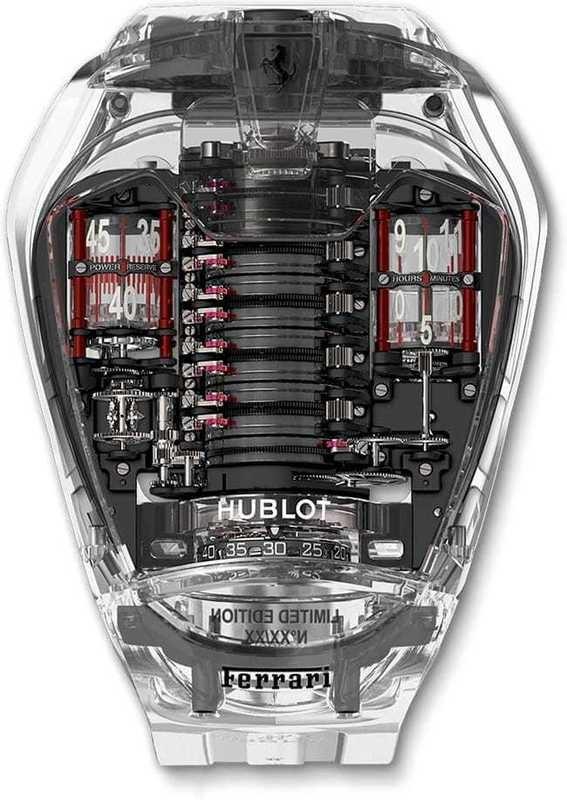 Hublot MP-05 LAFERRARI Sapphire 905.JX.0001.RT
