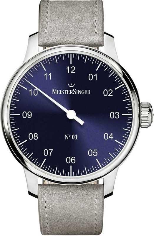 MeisterSinger No 01 Sunburst Blue AM3308