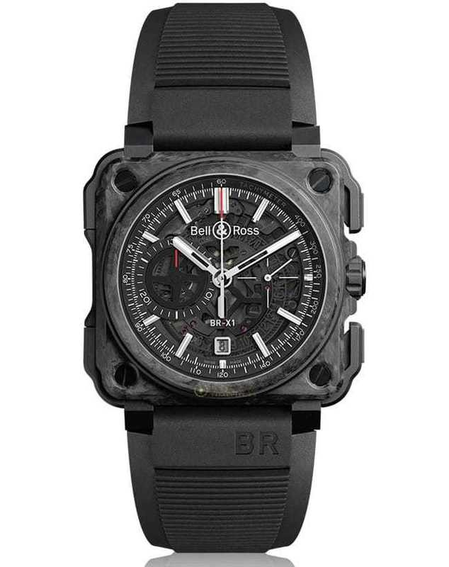 Bell & Ross BR-X1 Carbon Forge BRX1-CE-CF-BLACK