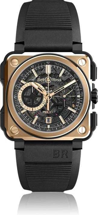 Bell & Ross BR-X1 Rose Gold & Ceramic BRX1-CE-PG