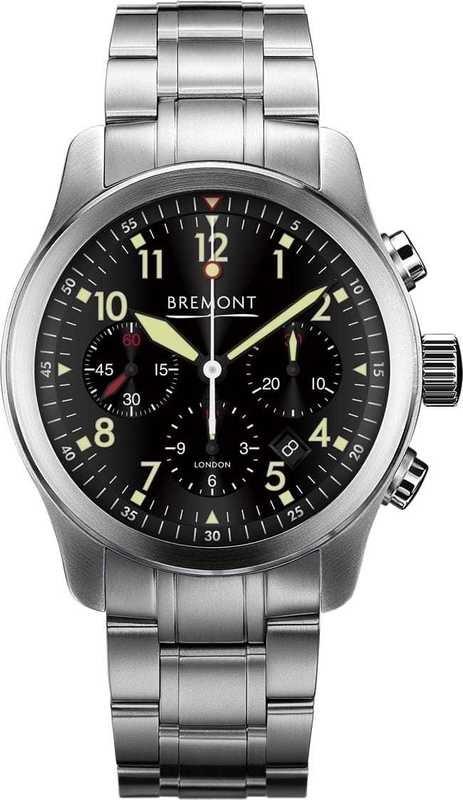 Bremont ALT1-P Pilot ALT1-P2-BK on Bracelet