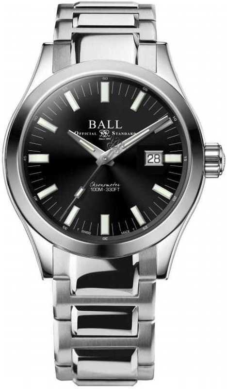 Ball Engineer M Marvelight Black 43mm