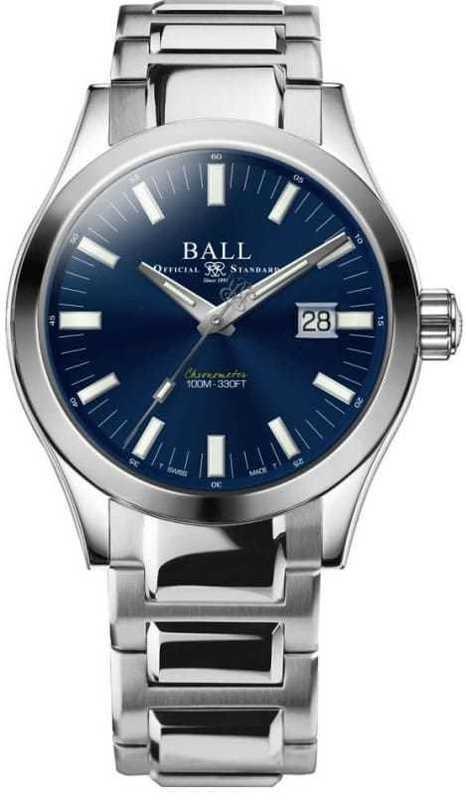 Ball Engineer M Marvelight Blue 43mm