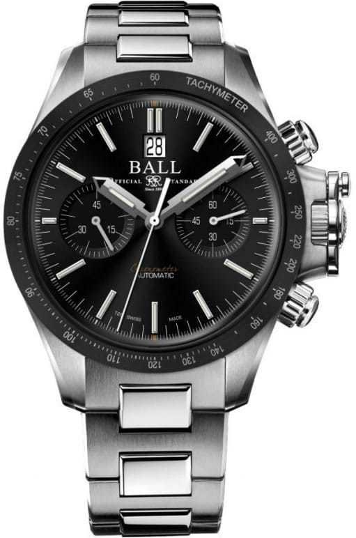 Ball Engineer Hydrocarbon Racer Chronograph Black Ceramic Bezel