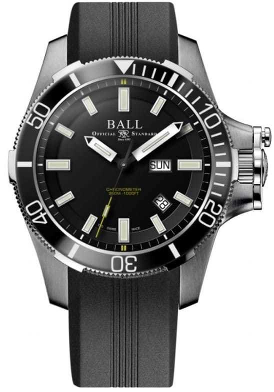 Ball Engineer Hydrocarbon Submarine Warfare Ceramic on Strap