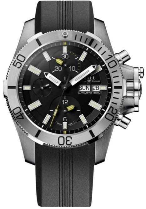 Ball Engineer Hydrocarbon Submarine Warfare Chronograph on Strap