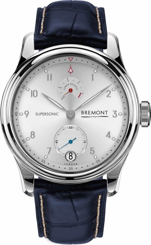 Bremont Supersonic White Gold
