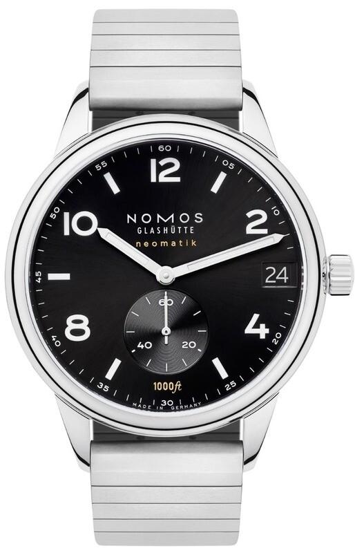 NOMOS Glashütte Sport Neomatik 42mm Date Black