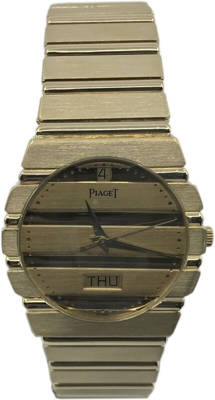 Piaget Polo Quartz 18k Solid Gold