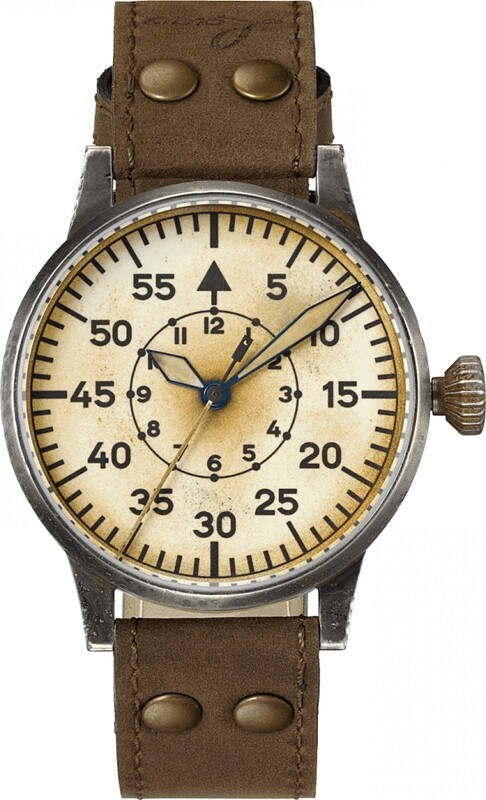 Laco Pilot Watch Original Wien Erbstück