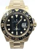 Rolex GMT-Master II 18k Yellow Gold 116718