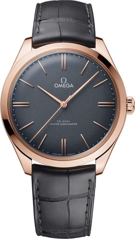 35e187c01e0 Omega De Ville Tresor Grey Gold - Exquisite Timepieces