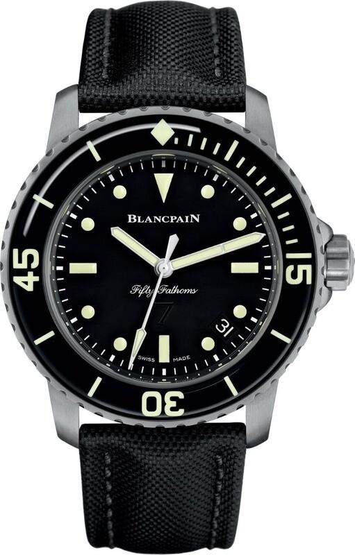Blancpain Fifty Fathoms Nageurs de Combat Automatic