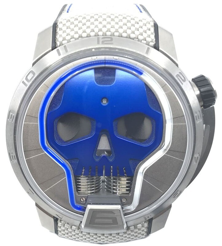 HYT Skull 48.8mm Blue