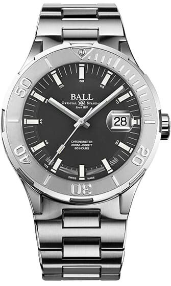 Ball Roadmaster M Skipper Grey 40mm