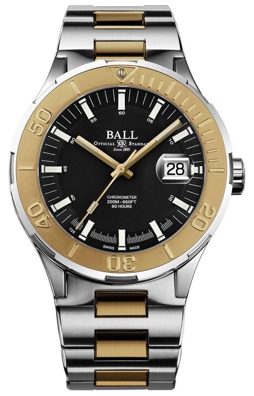 Ball Roadmaster M Skipper Black 40mm