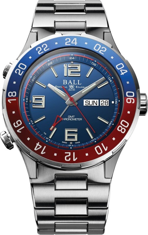 Ball Roadmaster Marine GMT Blue Dial
