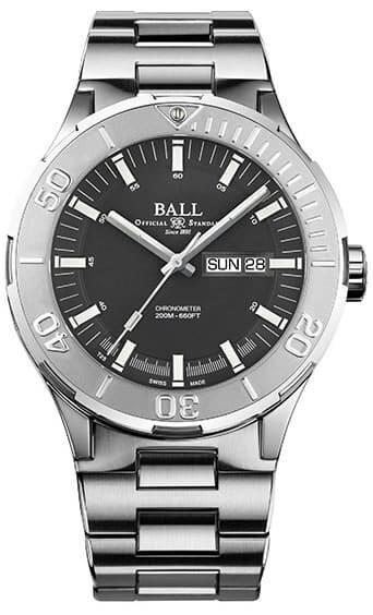 Ball Roadmaster Skipper Day Date Grey 40mm