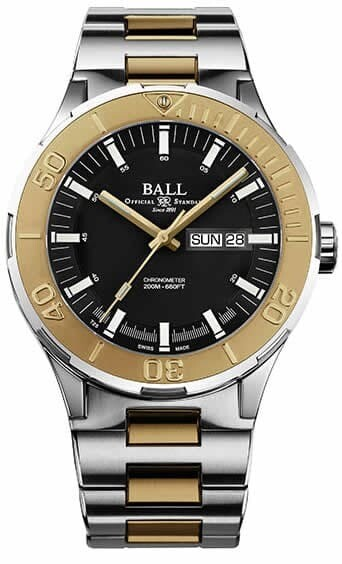 Ball Roadmaster Skipper Day Date Black 40mm