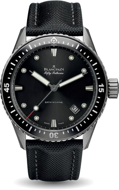 Blancpain Fifty Fathoms Bathscaphe 5000-1230-B52A