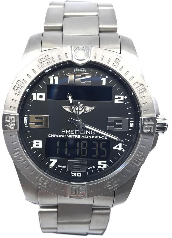 Breitling Aerospace Evo Black Dial Titanium E7936310/BC27-TI