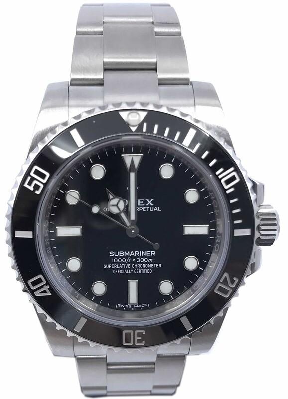Rolex Submariner V Series 114060