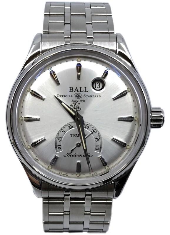 Ball Watch Trainmaster Kelvin Fahrenheit Scale NT3888D-S1J-SLF
