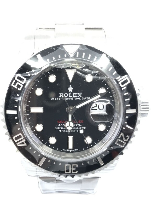 Rare Rolex 126600 Sea-Dweller Mark 1 Dial