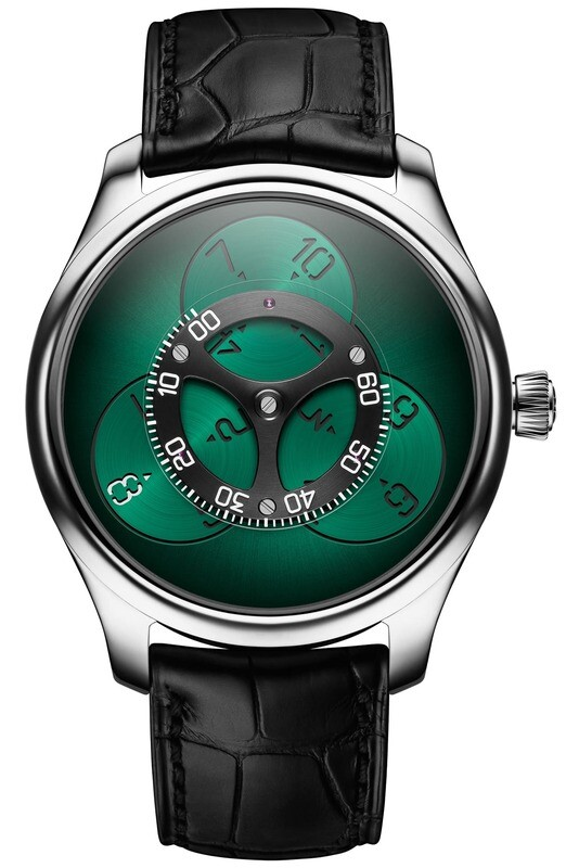 H. Moser & Cie Endeavour Flying Hours Green Dial
