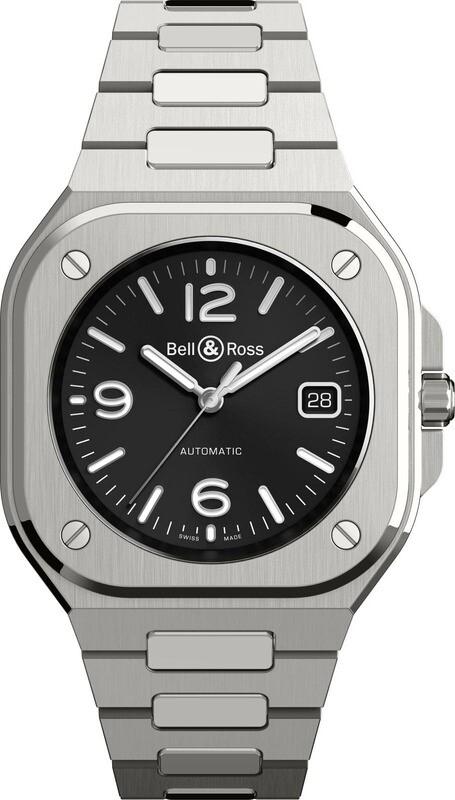 Bell & Ross BR 05 Black on Bracelet