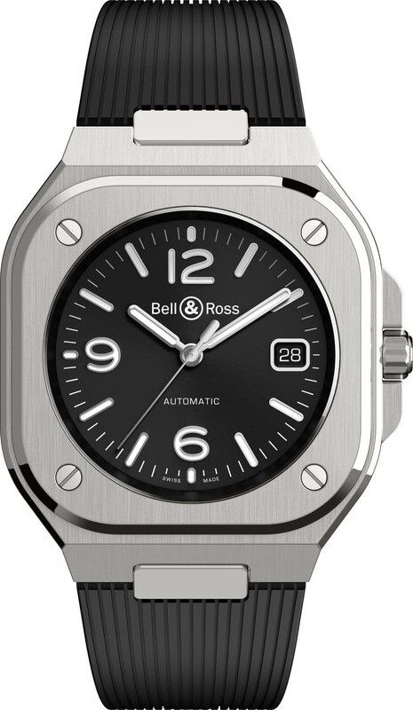 Bell & Ross BR 05 Black on Strap