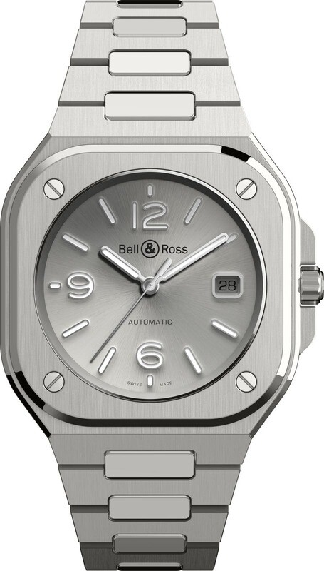 Bell & Ross BR 05 Grey on Bracelet
