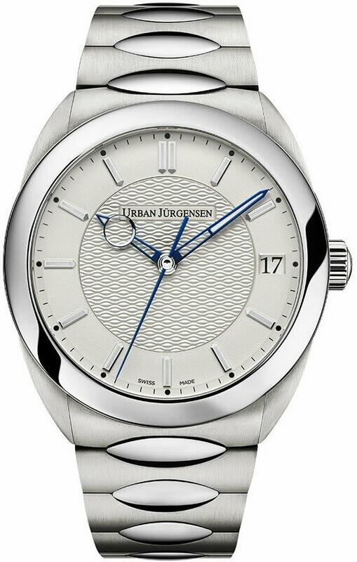 Urban Jürgensen One Date White Dial on Bracelet