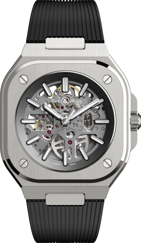 Bell & Ross BR 05 Skeleton on Strap