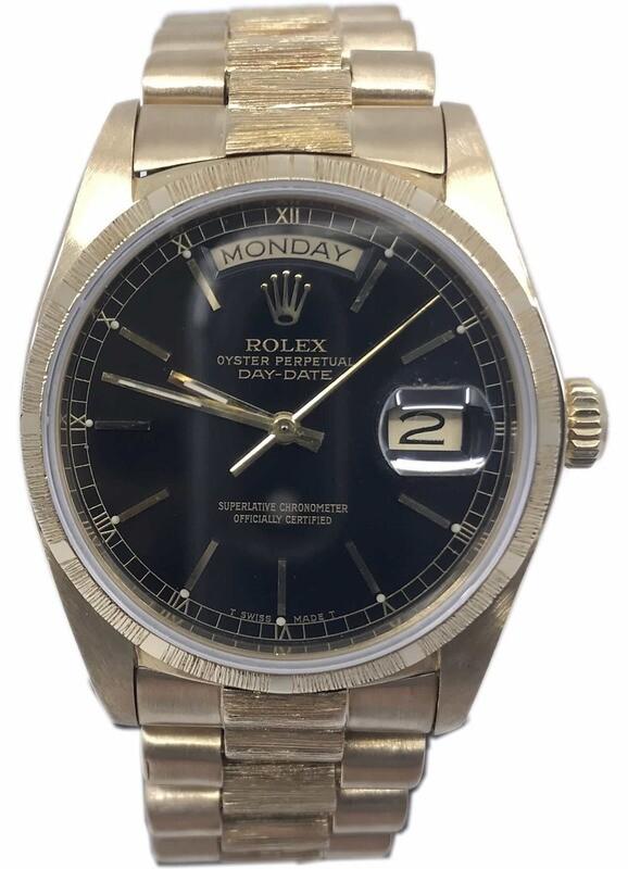 Rolex President Bark 7 Million Serial