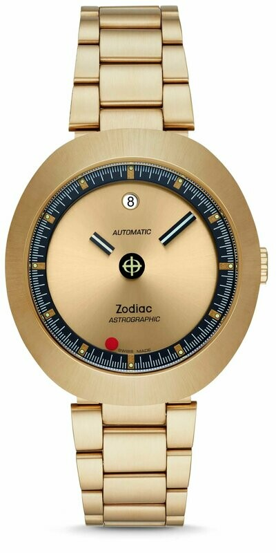 Zodiac Astrographic Automatic Gold-Tone Stainless Steel Limited Edition