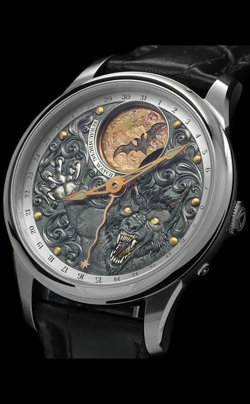 Schaumburg Watch Moon Werewolf
