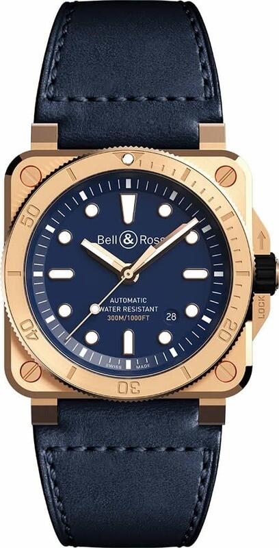 Bell & Ross BR 03-92 Diver Bronze Navy Blue