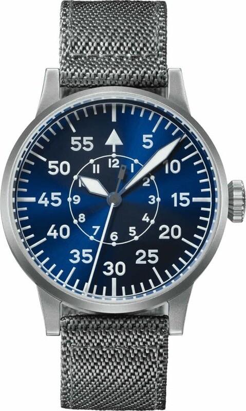 Laco Pilot Watch Paderborn Blaue Stunde