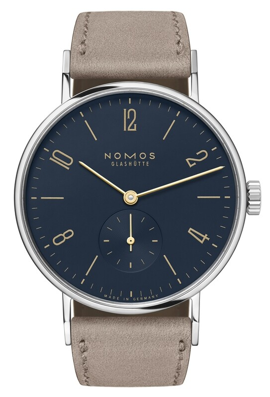 NOMOS Glashütte Tangente 35 Midnight Blue