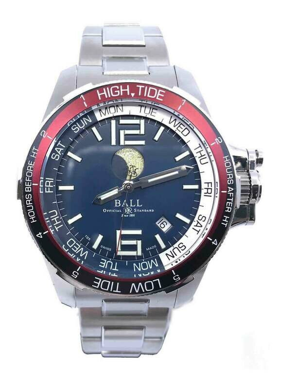 Ball Engineer Hydrocarbon Moon Navigator Blue Dial DM3320C-SAJ-BE