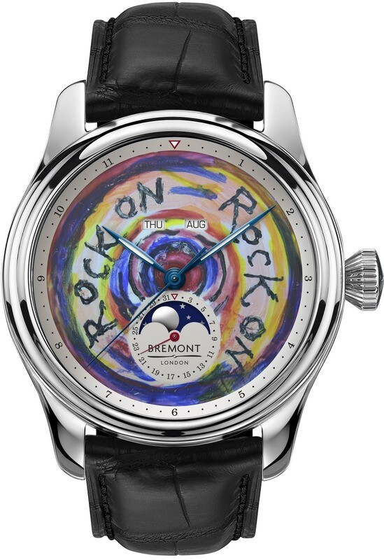 Bremont Ronnie Wood 1947 Rock on Feel