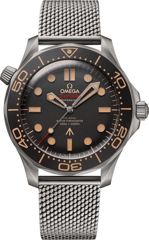 Omega Seamaster Diver 300 007 Edition