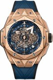 Hublot Big Bang Unico Sang Bleu II King Gold Blue 418.OX.5108.RX.MXM20