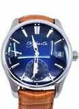 H. Moser & Cie Pioneer Perpetual Calendar Midnight Blue Fumé Dial 3800-1200