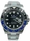 Rolex GMT-Master II Batman 116710BLNR Model 2018 Random Serial