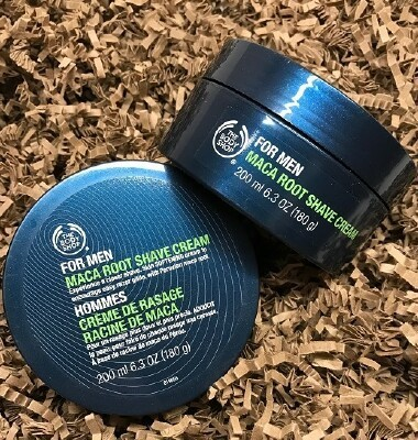 Maca Root Shave Cream from the BodyShop