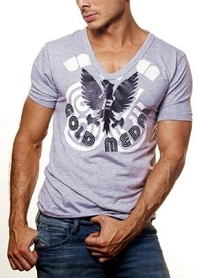 Pipe Unbeaten V-Neck T-Shirt for men