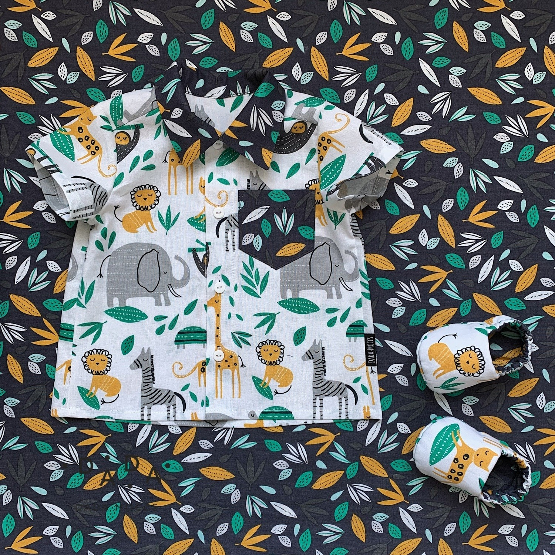 Комплект рубашка и моксы