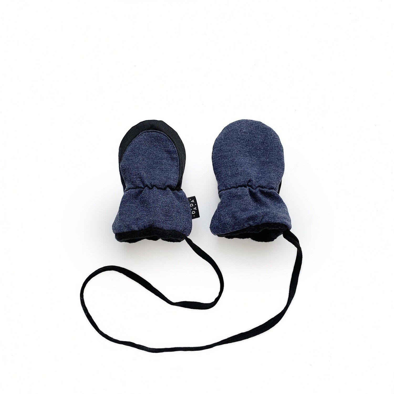 Утеплённые варежки (без пальчика)